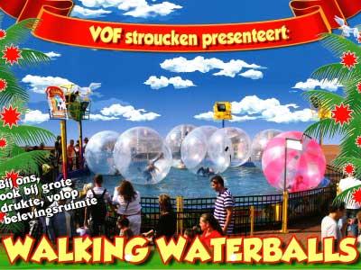 Walking Waterballs