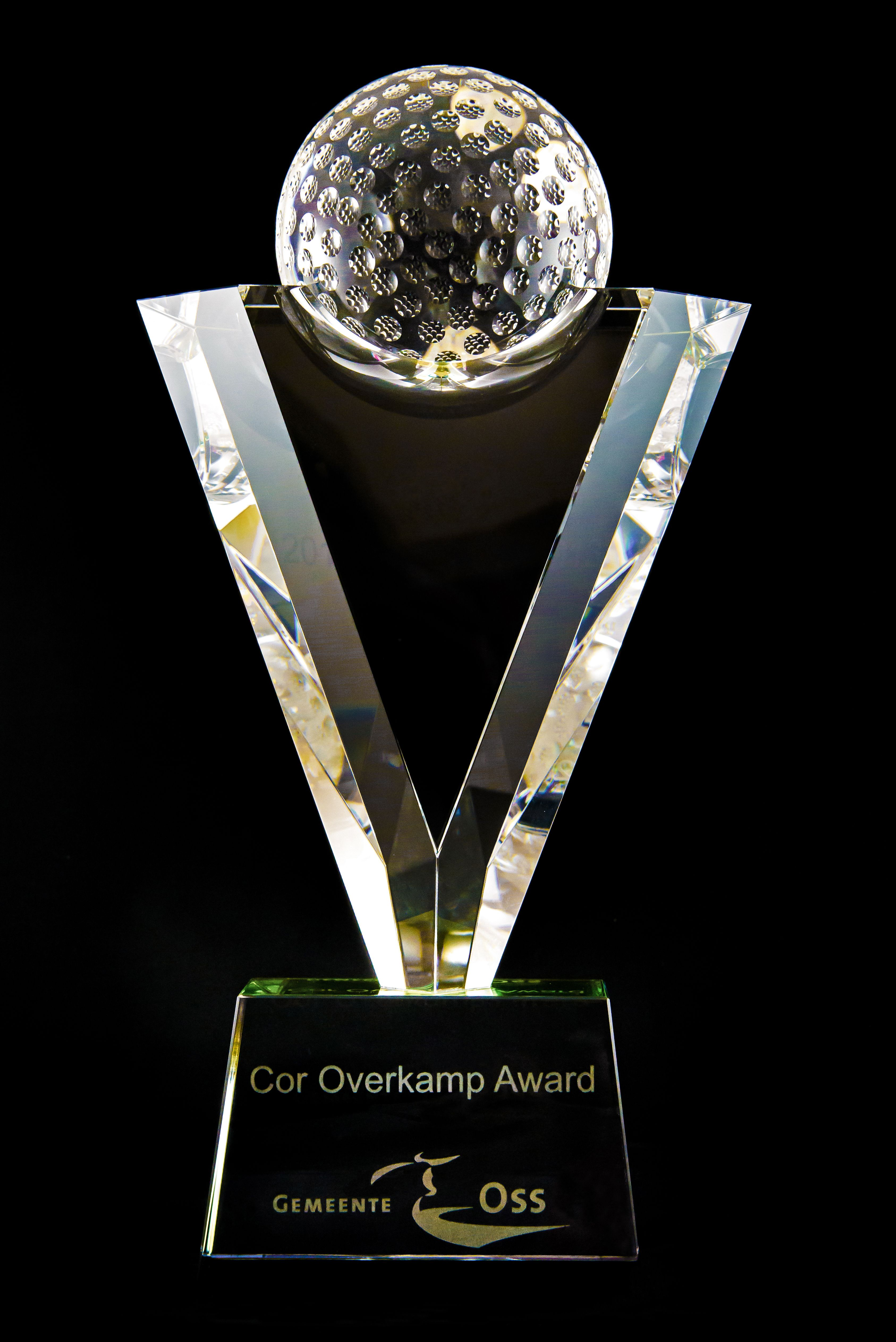 Foto uitreiking Cor Overkamp Award