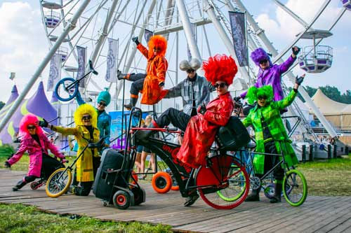UniQcycle Fietsenparade